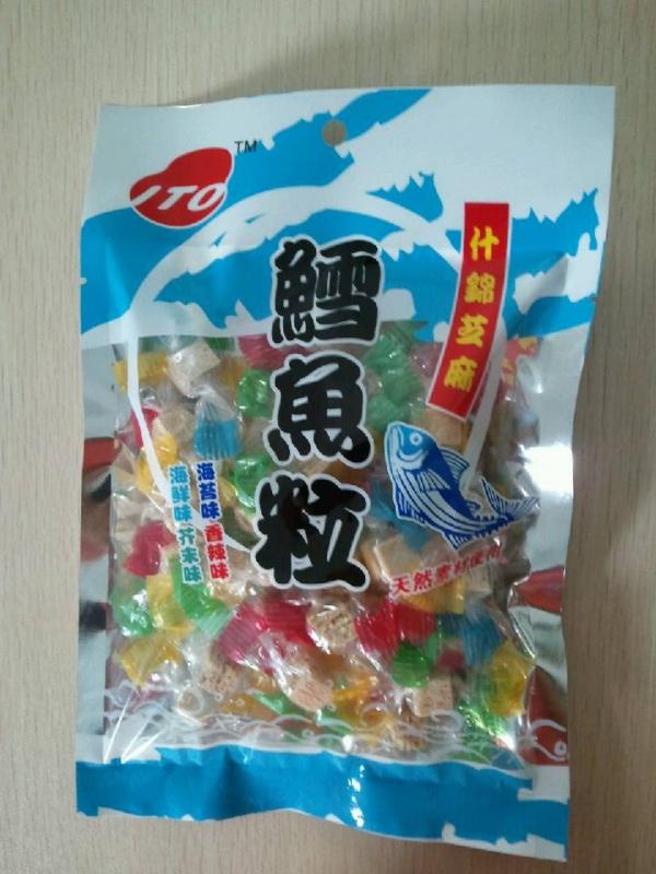 ITO0100ITO 什錦芝麻鱈魚粒 50g 30x1 ITOAssorted Sesame Codfish tablets 50g 30x1