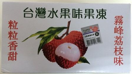 ITO0138ITO 台灣水果味果凍 (荔枝) 400g 24x1