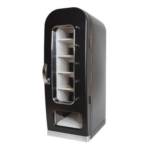 THANKO「俺の自販機」復古汽水機雪櫃仔 黑色