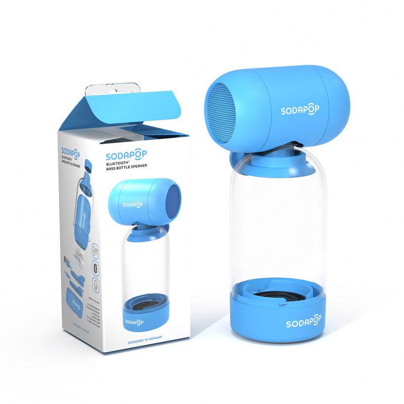 Sodapop Bluetooth Bass Bottle Speaker SP-BB01 藍牙揚聲器