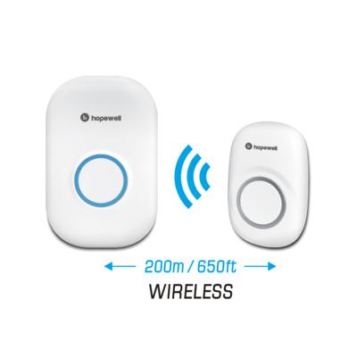 Hopewell 200m Plug-In Battery-Free Wireless Doorbell 無線門鈴 DF-661