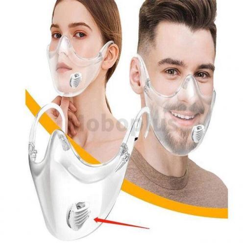 M-Plus Transparent Protective Mask Face Shield 透明防護口罩
