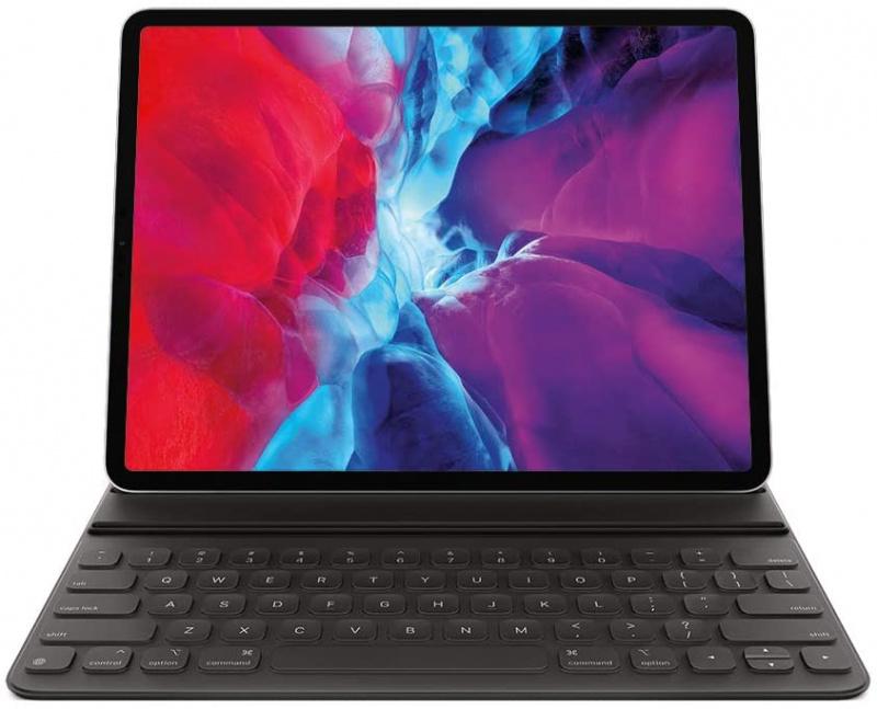 Apple 智慧型摺套連鍵盤適用於 iPad Pro 12.9 吋 (第 4 代) - 美式英文 (不含電腦)