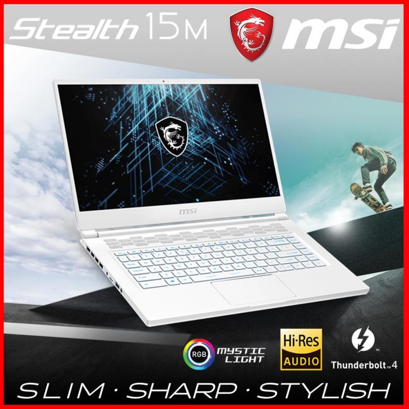 MSI Stealth 15M A11UEK White極致纖薄電競筆電( i7-11375H / 16GB / RTX3060 / 144Hz )[電腦節狂歡]