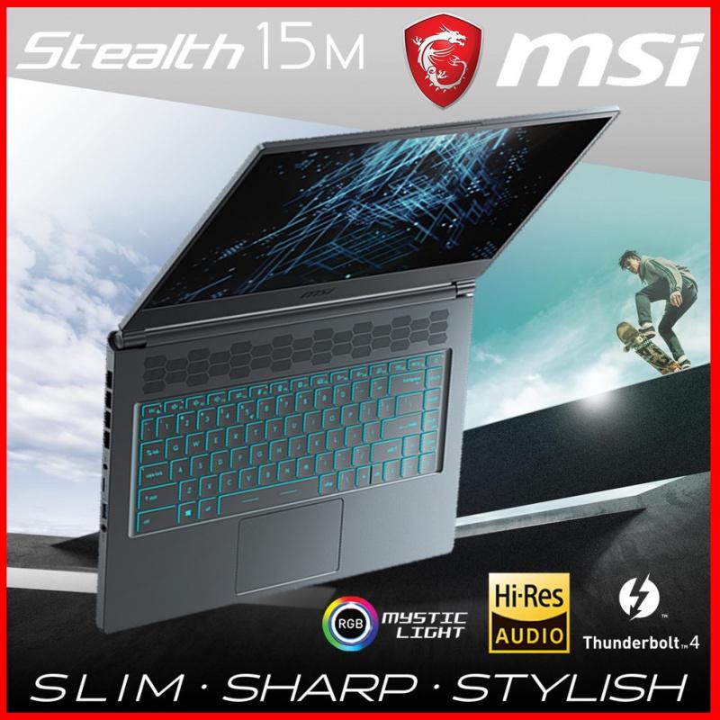 MSI Stealth 15M A11UEK Grey 極致纖薄電競筆電( i7-11375H / 16GB / RTX3060 / 144Hz )[電腦節狂歡]
