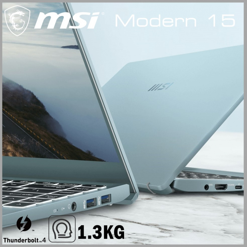 "MSI Modern 14 B11M 14"" 專業創作筆記電腦 (i5-1135G7 / 16GB 記憶體) [2色]"