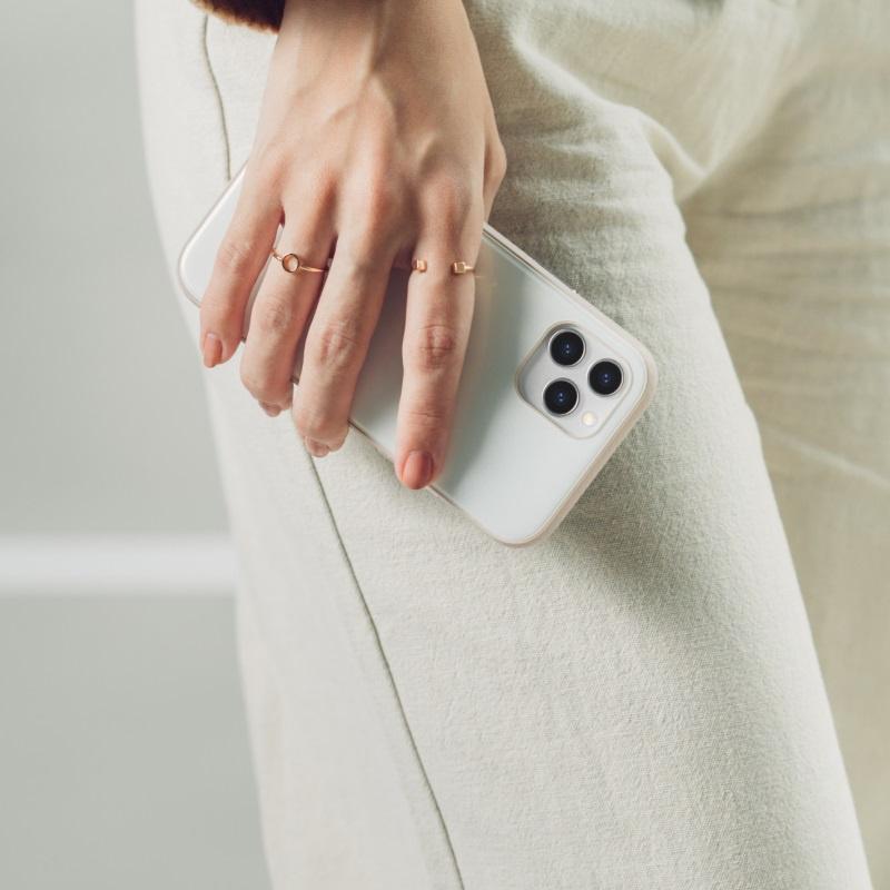【香港行貨】Moshi iGlaze for iPhone 12/12 Pro 晶緻曜澤保護殼 (SnapTo)[保護套]