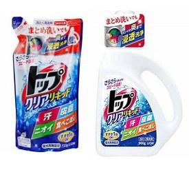 獅王Top 強效潔淨洗衣液+補充裝