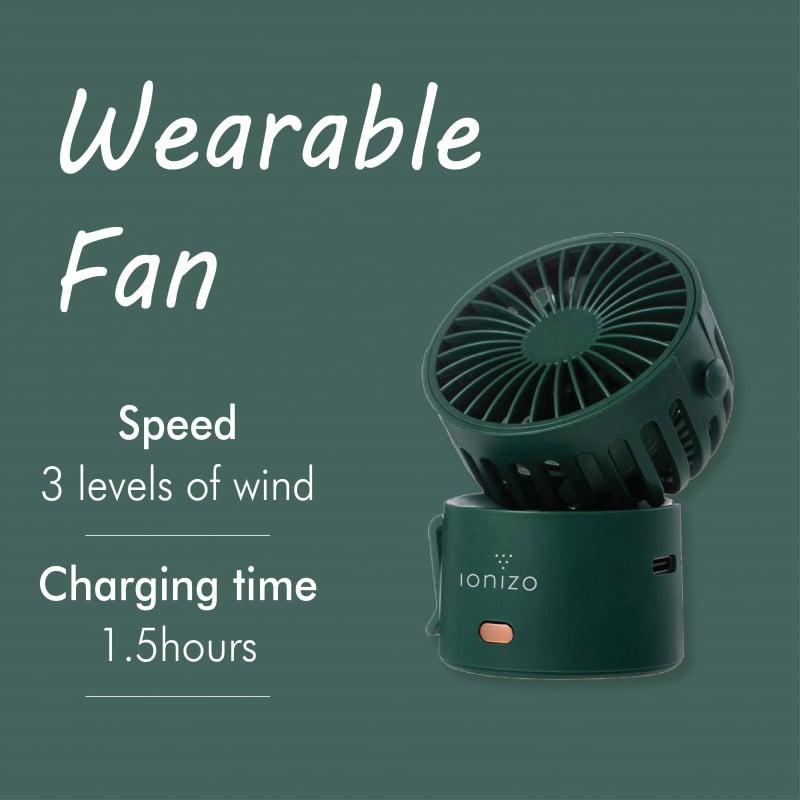 @PL • Ionizo 超迷你便攜式百變小風扇(4色選擇)