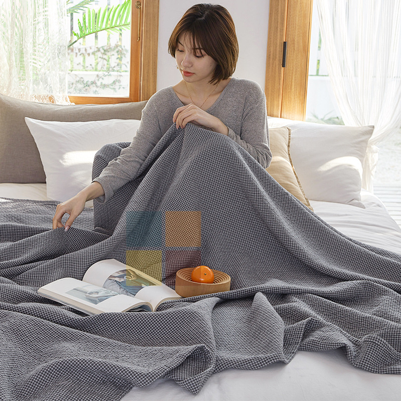 日系純棉冷氣被 毛巾被毛毽 [兩尺寸]