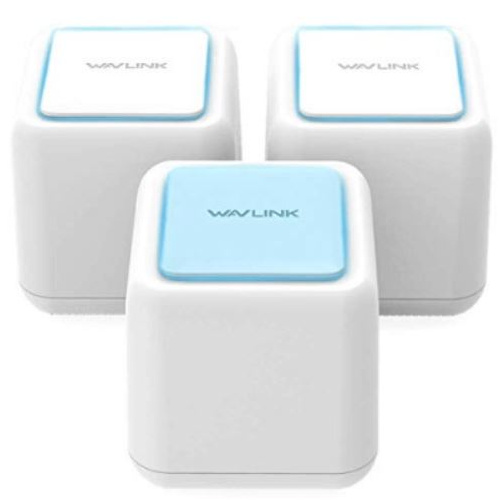 Wavlink HALO Base AC1200 Dual-band Whole Home WiFi Mesh System with Touchlink (三件裝)
