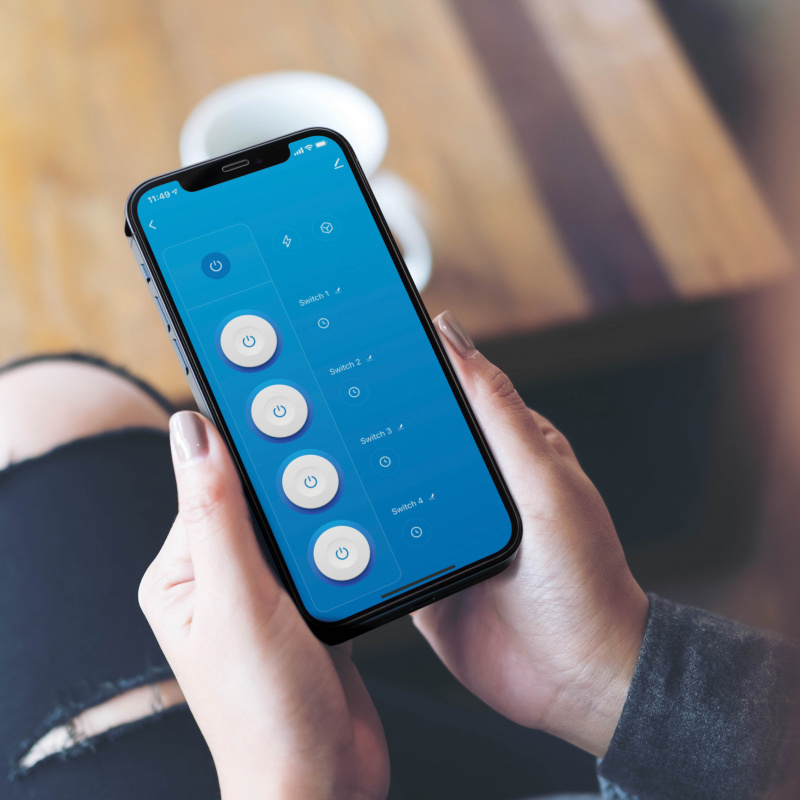 MOMAX ChargeHub IoT 智能排插拖板[US2S]