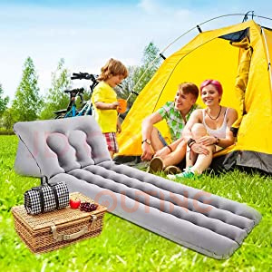 OUTING - 沙灘露營充氣床墊和沙灘椅