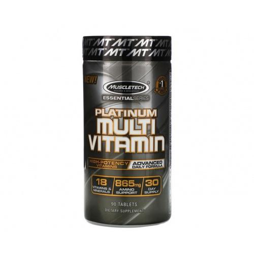 Muscletech 白金綜合維他命 Multi Vitamin [90粒]