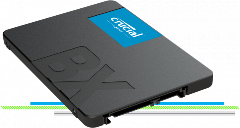 "Crucial BX500 2.5"" SATA SSD (Micron Technology, Inc)"