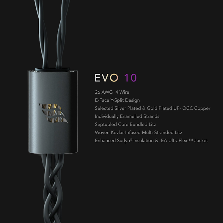 Effect Audio EVO 10 高級混編耳機升級線