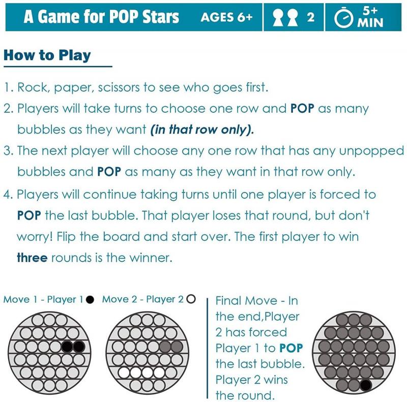 擠壓式體感桌上訓練集中力遊戲Fidget Sensory Toy Autism ADHD ADD訓練 親子 圓形