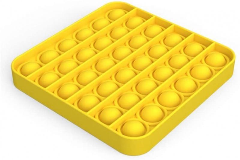 擠壓式體感桌上訓練集中力遊戲Fidget Sensory Toy Autism ADHD ADD訓練 親子(方形 )