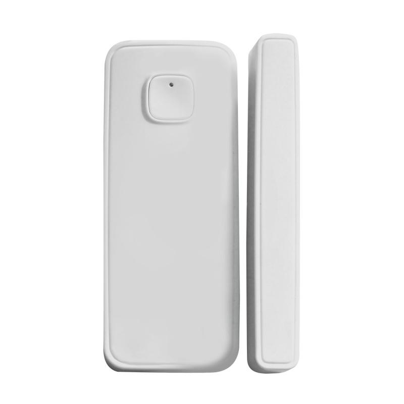智能門磁感應器(WiFi), 傳感器開門關門響警報WiFi智能無線安裝電池量通知安防遙控手機APP遠程監控開關門窗探測發出警報智能聯動其它智能設備開關電視冷氣窗簾風扇家電(U-WD001)