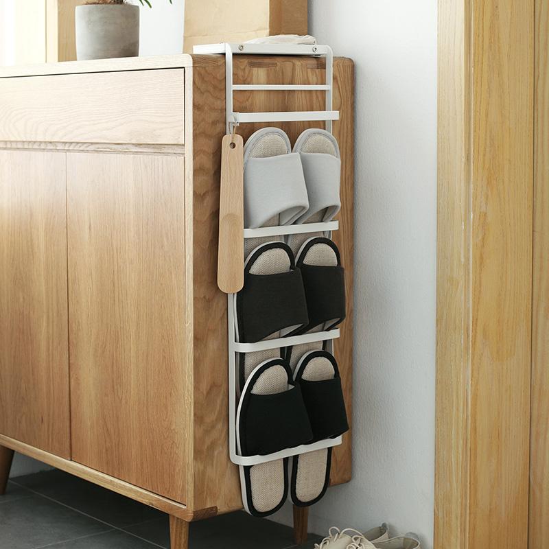 日系簡潔免安裝拖鞋架