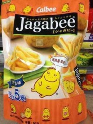FS0106卡樂B宅卡B薯條原味企身袋 90g Jagabee Potato Sticks (Original Flavour) Standing Pouch 90g