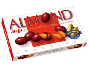 F6302 明治杏仁朱古力 88g Almond Choco 88g