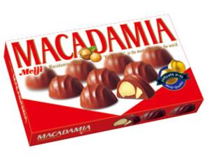 F6303明治夏果朱古力 9's Macadamia Choco 9's