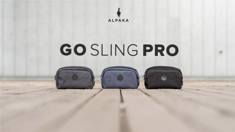 Alpaka Go Sling Pro 多功能便攜側肩包 [3色]