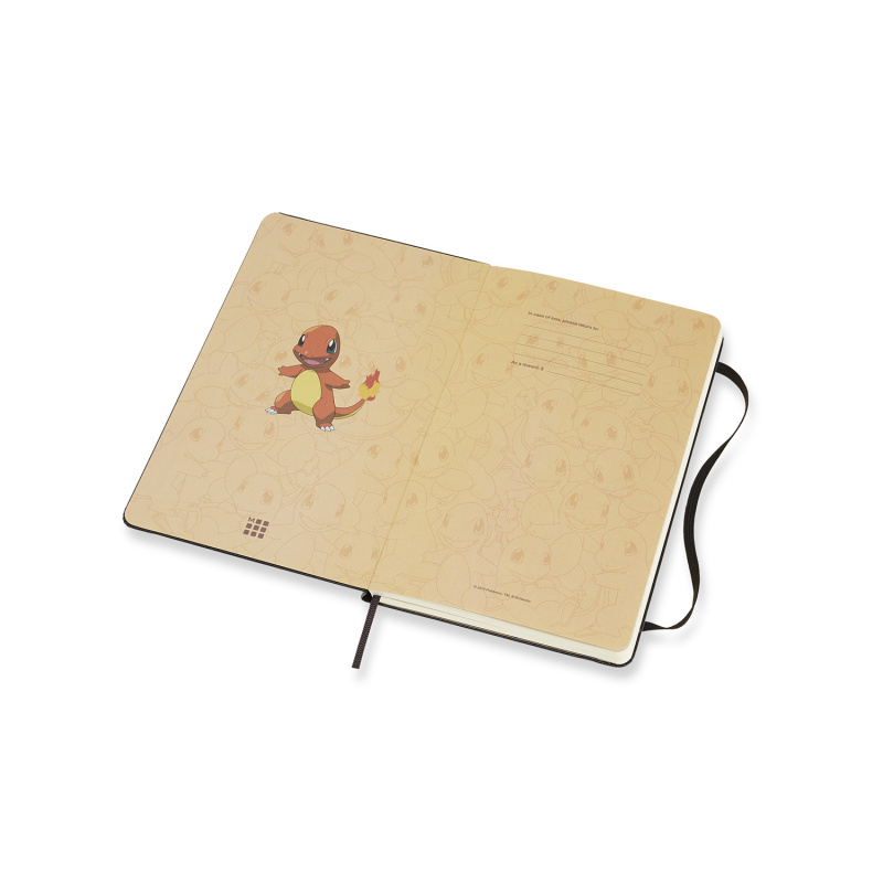 Moleskine Pokemon 寵物小精靈限定版橫間筆記本[五款]