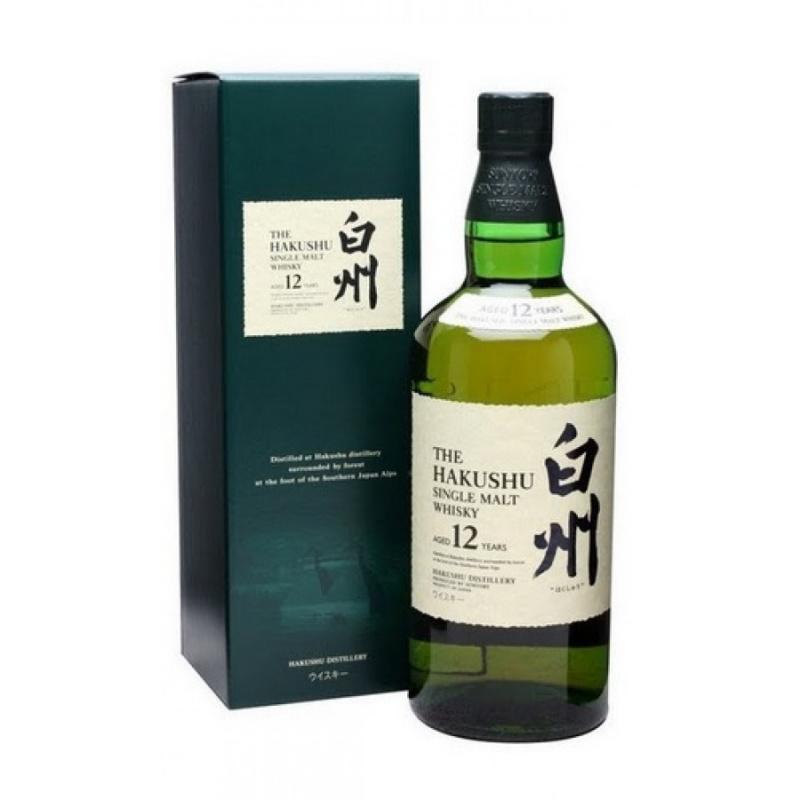 Suntory白州12年單一麥芽威士忌
