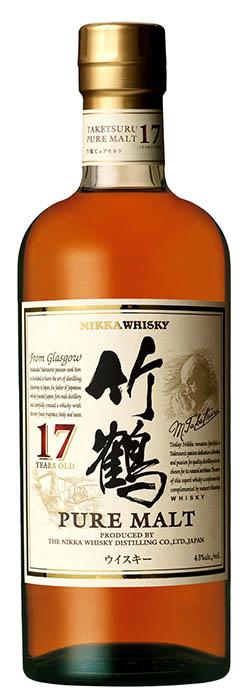 Nikka 竹鶴17年純麥威士忌