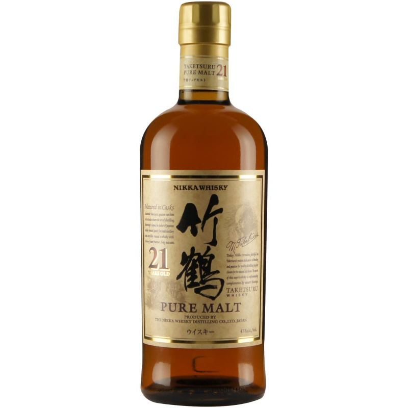 Nikka 竹鶴21年純麥威士忌