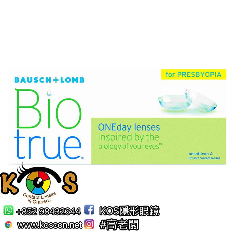 BioTrue 全舒適 1Day Con 漸進