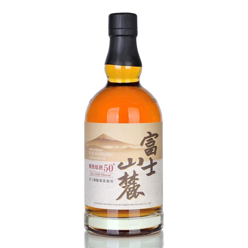 富士山麓 樽熟原酒50° 威士忌