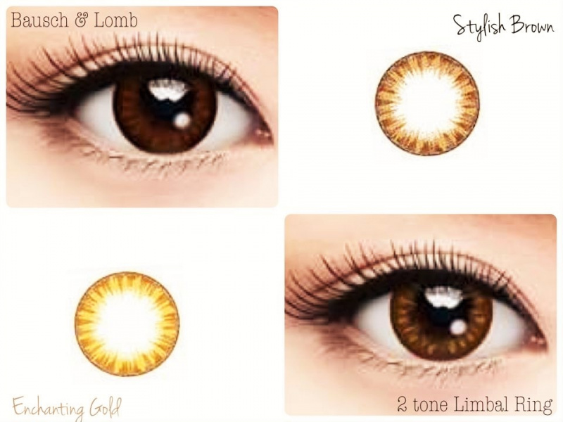 博士倫 Lacelle 1 day 大眼眼妝CON系列 隱形眼鏡 [2色]