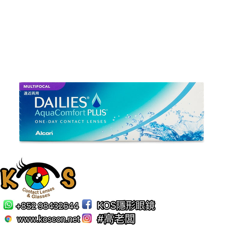 Alcon DAILIES® AquaComfort Plus™ 漸進