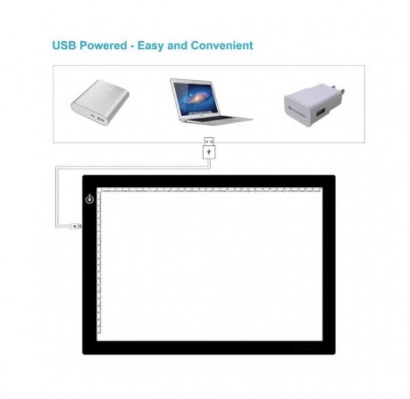 Professional LED Drawing Board 專業超薄LED描圖燈板