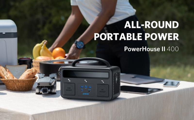 Anker PowerHouse II 400 易攜電源 [108,000Mah/ 388.8Wh]
