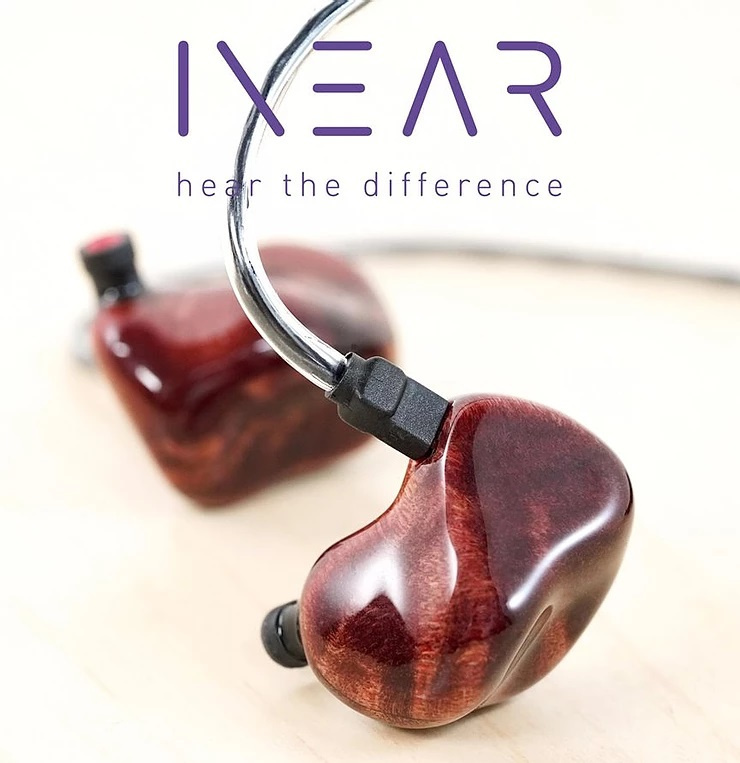 InEar ProPhile 8VS 入耳式耳機 - Burl Wood Hybrid Red 版