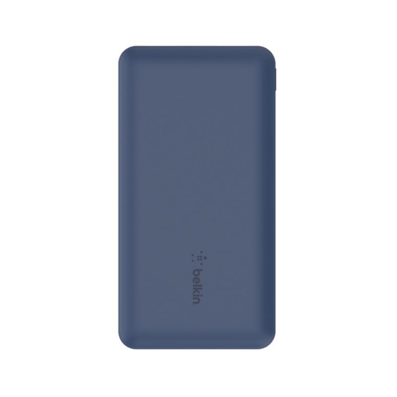 Belkin BOOST↑CHARGETM 3 個連接埠行動充電器 10K + USB-A 轉 USB-C 充電線[BPB011bt][2色]