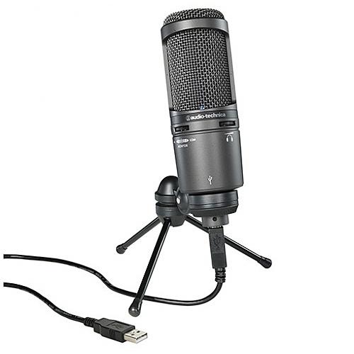 Audio Technica USB心形指向性咪高峰 AT2020USB+
