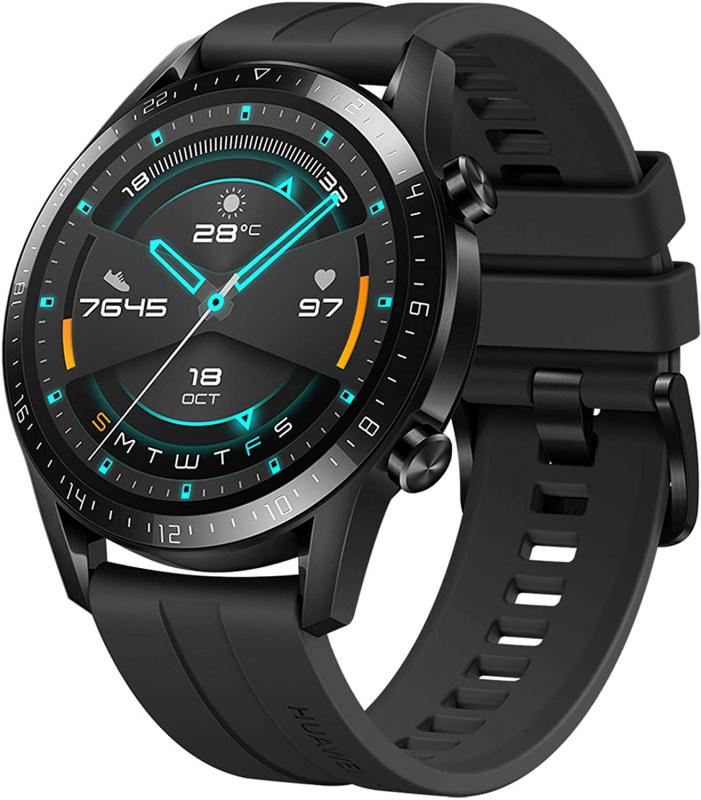 HUAWEI Watch GT 2 矽膠錶帶手錶 [46mm][2色][LTN-B19]