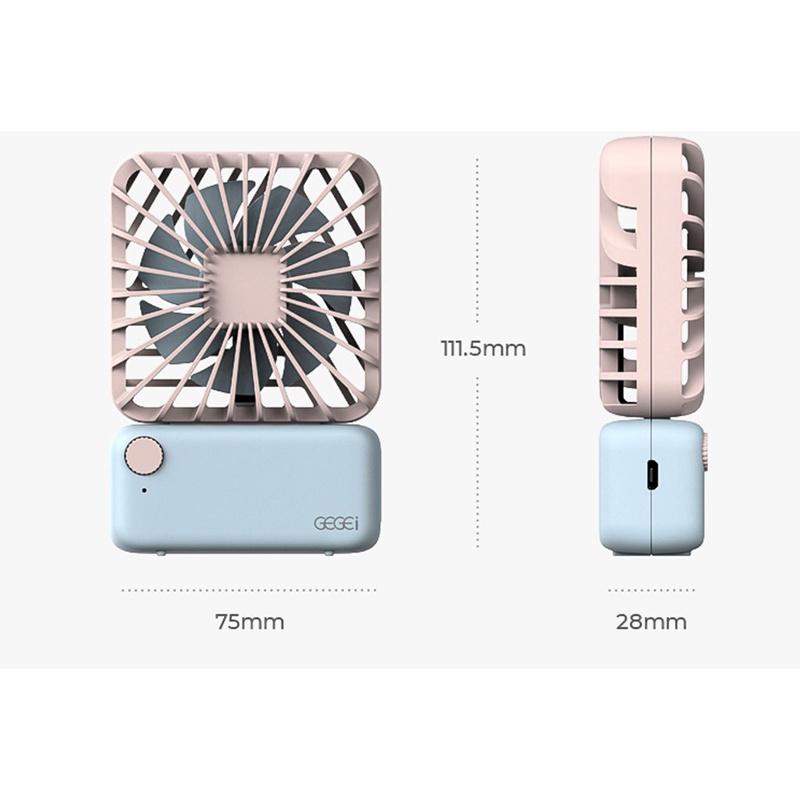 GEGEI F3 手持式輕巧微型風扇【2色】