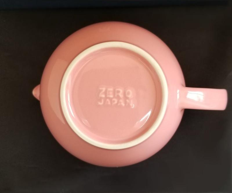 【日本直送】ZEROJAPAN美濃焼陶瓷不鏽綱茶壼連茶杯禮盒套裝450CC-玫瑰色 ZG-001 ROS