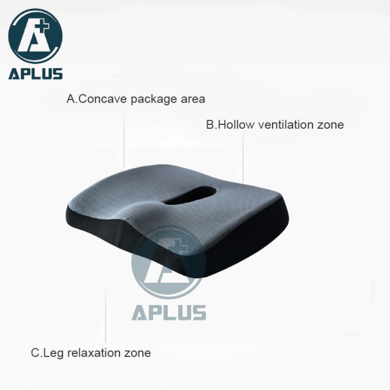 APLUS - 記憶棉坐墊枕 Donut 2