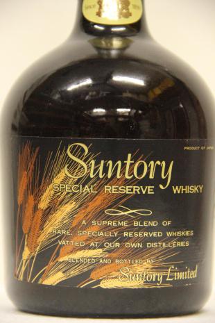 70年代三得利雙獅標禮藏威士忌