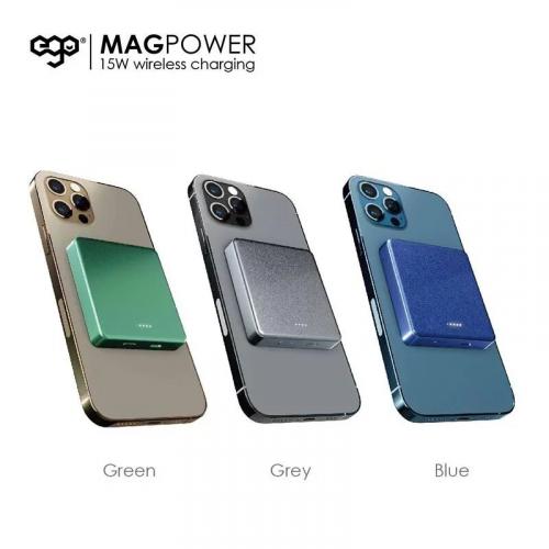 EGO MAGPOWER 15W magsafe 6000mAh 外置電池