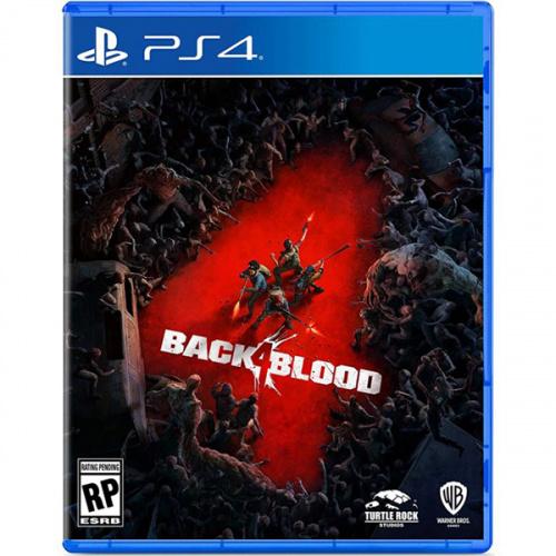 【二人同行優惠】 PS4 BACK 4 BLOOD 喋血復仇:標準版 [中文版]
