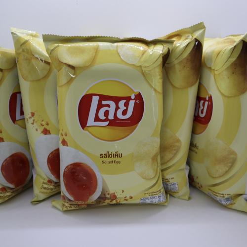 Lays薯片-鹹蛋味 46g (6件裝)