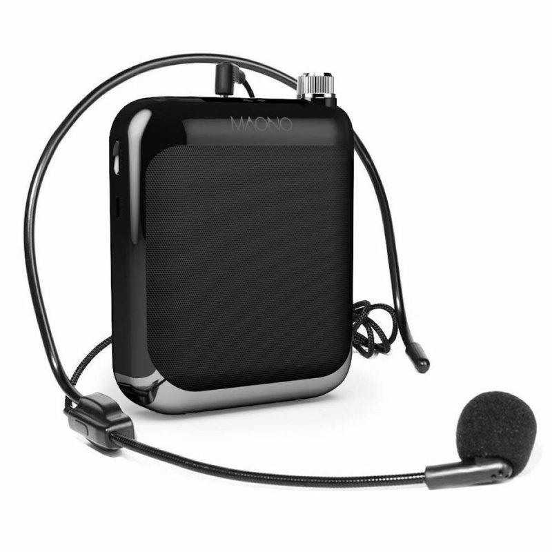 Maono Portable Voice Amplifier with Waistband and LED Display AU-C01 帶腰帶和 LED 顯示屏的 MANONO 便攜式語音放大器
